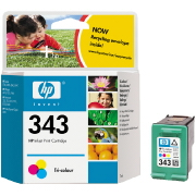 HP C8766E Ink Cart Colour No. 343 pro DJ 5740,6540 - C8766EE