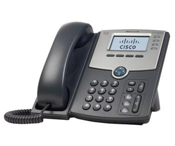 Cisco SPA504G, 4-line VoIP telefon, display, PoE, PC port, SIP - SPA504G