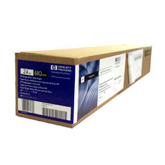 HP Bright White Inkjet Paper, 610mm, 45 m, 90 g/m2 - C6035A