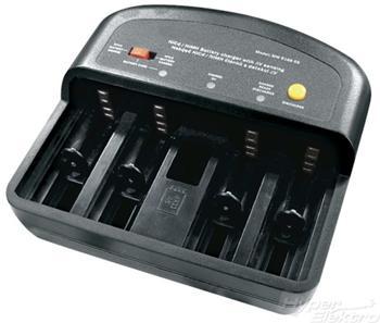Nabíječka Emos MW-9168GS, pro 2-4 AAA/AA/C/D akumulátory - MW-9168GS