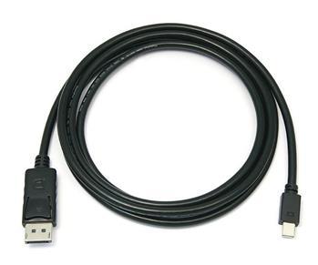 Kabel DisplayPort DP M - Mini DisplayPort M, 2m - kport2-02