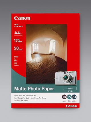 Canon MP-101A4 Photo paper plus matte A4, 50 listů, 170g/m2, mat. - 7981A005