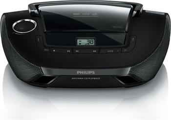 Philips CD Přehrávač, FM, USB, MP3/WMA, AZ1837/12 - AZ1837/12
