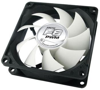 Arctic-cooling Arctic Fan F8 PWM, 80x80x25mm - 87276700263-0