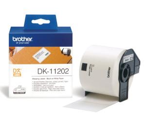 BROTHER DK-11202 (papírové/poštovní štítky-300ks) 62x100mm - DK11202