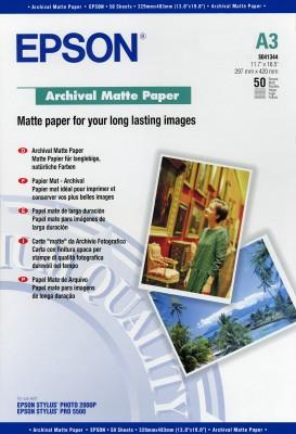 Papír Epson Archival Matte A3 (50 listů) - C13S041344