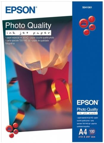 Epson paper A4 Photo Quality Ink Jet ( 100 sheets ) - C13S041061