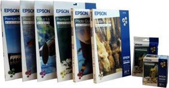 Epson paper A4 Premium Semigloss Photo - 20 sheets - C13S041332