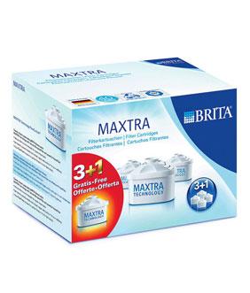 Brita Maxtra (3+1ks) náhradní filtry - Maxtra 3+1