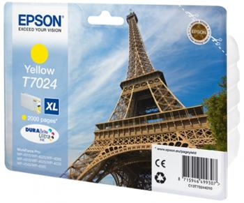 EPSON cartridge T7024 XL yellow - C13T70244010