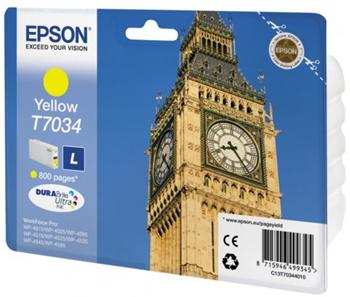 EPSON cartridge T7034 yellow - C13T70344010