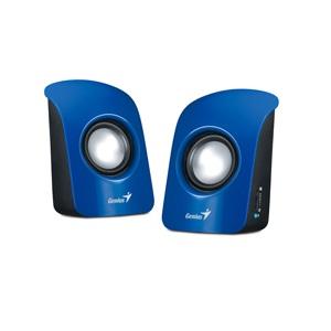Genius repro SP-U115, přenosné repro, USB napájení, modré - 31731006102