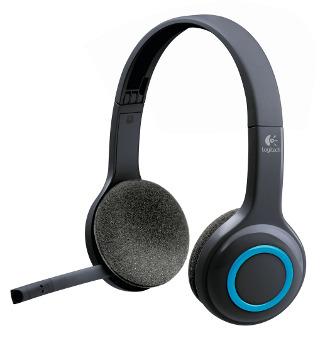 Náhlavní sada Logitech Wireless Headset H600 - 981-000342 - 981-000342