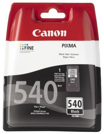 Canon ink. náplň PG-540 černá pro MG2150 a MG3150 - 5225B005