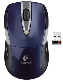 Myš Logitech M525 nano, Wireless, modrá - 910-002603 - 910-004933