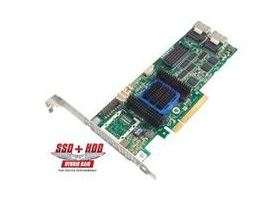 Microsemi ADAPTEC RAID 6405 Single SAS 2/ SATA 2, PCI Express x8, 4 porty - 2270000-R