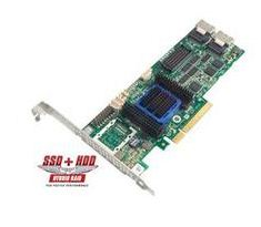 Microsemi ADAPTEC RAID 6805 Single SAS 2/ SATA 2, PCI Express x8, 8 portů - 2270100-R