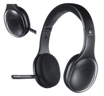 Náhlavní sada Logitech Wireless Headset H800 - 981-000338