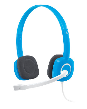Náhlavní sada Logitech Stereo Headset H150, Blueberry - 981-000368 - 981-000368