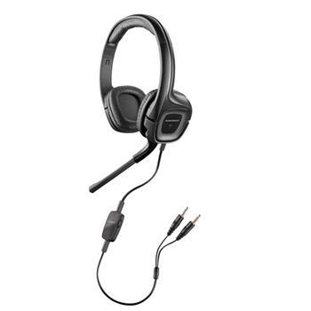 Sluchátka s mikrofonem Audio 355, černá Plantronics - 79730-05