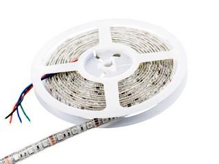 Whitenergy LED páska voděodolná 5m | 60ks/m| 5050 | 14.4W/m | 12V DC | RGB - 07003