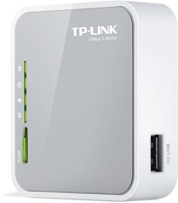 TP-LINK TL-MR3020, WiFi N router, 3G, 1×WAN/LAN, USB - TL-MR3020