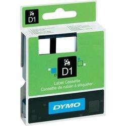 DYMO páska D1 polyester (9mm x 7m) černá na bílé S0720680 - 40913