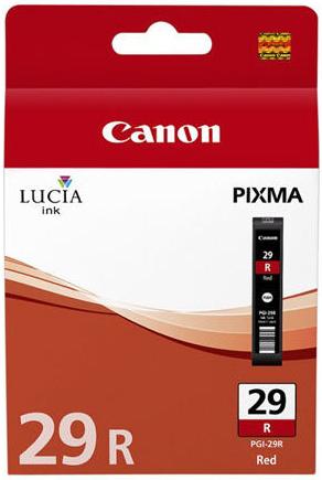Canon ink. náplň PGI-29 R červená pro PIXMA PRO 1 - 4878B001