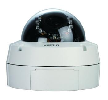 D-LINK DCS-6511 Securicam Day & Night Megapixel WDR Fixed Dome Network Camera, PoE, H.264, 3GP, IR LED, IR Cut - DCS-6511