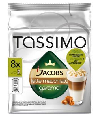 Tassimo Jacobs Latte Macchiato Caramel - CARAMEL