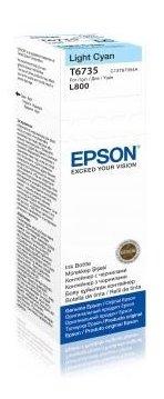 Epson T6735 Light Cyan ink 70ml pro L800 - C13T67354A10