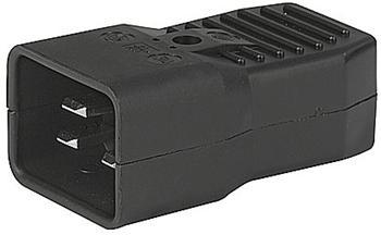 Konektor síťový 230V/M 16A C20 - cs220m16