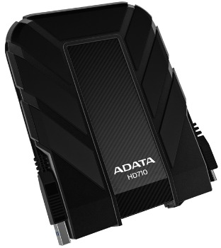 A-DATA HD710 500GB 2.5'' USB 3.0 černý - AHD710-500GU3-CBK