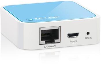 TP-LINK TL-WR702N, Mini AP/router 150Mbps, LAN - TL-WR702N