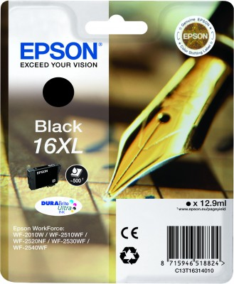 Epson ink Durabrite Ultra 16XL - black - C13T16314012