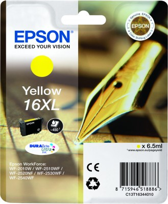 Epson ink Durabrite Ultra 16XL - yellow - C13T16344012