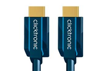 Clicktronic HQ OFC Standard Speed HDMI kabel s Ethernetem, HDMI A(M) - HDMI A(M), 15m - CLICK70309