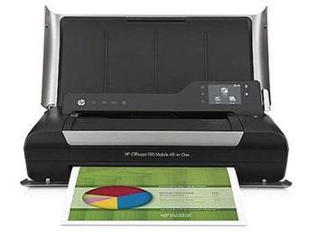 HP OfficeJet 150 mobilní multifunkční tiskárna - CN550A