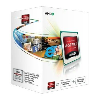 AMD A4-5300 (Trinity) X2 Dual-Core 3.4GHz 1MB skt. FM2 BOX - AD5300OKHJBOX