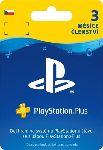 PlayStation Plus Card 90 Day - PS719810742