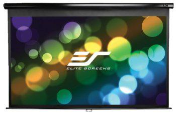 "ELITE SCREENS plátno roleta 120"" (304,8 cm)/ 16:9/ 149,4 x 265,7 cm/ Gain 1,1/ case černý - M120UWH2"