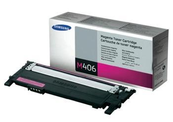 Samsung toner bar CLT-M406S/ELS pro CLP-360/CLP-365 CLX-3300/CLX-3305 - magenta - 1000 str. - CLT-M406S/ELS