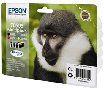 Epson ink. bar. Stylus S20/SX100/SX200/SX400 - CMYK - C13T08954010