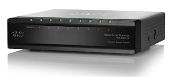 Cisco SLM2008T-EU, 8×LAN, Gigabit Smart Switch - SLM2008T-EU