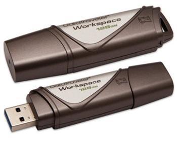 Kingston DataTraveler Workspace 128GB USB 3.0 flashdisk, WTG - DTWS/128GB