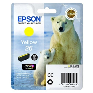 Epson ink bar CLARIA Premium 26 - yellow - C13T26144010