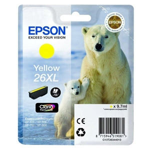 Epson ink bar CLARIA Premium 26XL - yellow - C13T26344010
