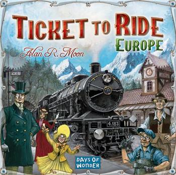 Ticket to Ride: Europe - DOW7202