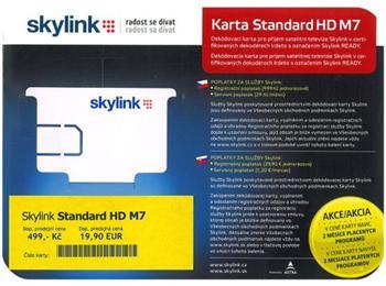 Skylink dekódovací karta Standard HD M7 Irdeto - Skylink HD M7