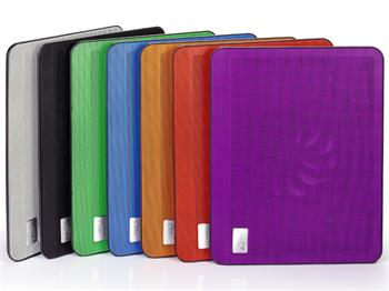 Chladící podložka pod notebook Deepcool N17 blue - N17 BLUE